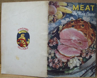 Meat The Main Course Cookbook 1942