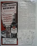 Park And Tilford Whiskey Proud Legacy Ad 1945