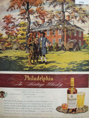 Philadelphia Whisky Indian Camp Ad 1945