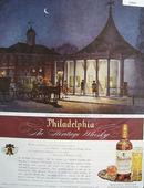 Philadelphia Whisky Ricketts Circus Ad 1945