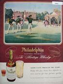 Philadelphia Whisky Archery  Ad 1948
