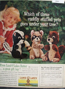 Land O Lakes Butter Christmas Ad 1961
