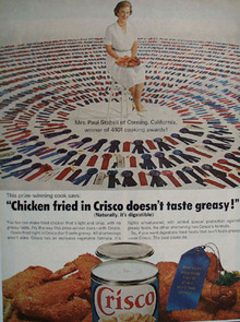 Crisco And Mrs. Paul Staheli Ad 1964