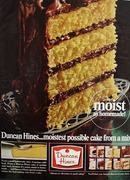 Duncan Hines Moist As Homemade Ad 1965
