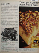 Pillsbury Butter Pecan Coffee Cake Mix Ad 1967