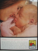 General Food Kitchens Promise To Baby Girl Ad 1961