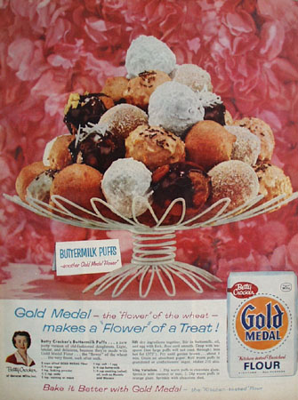 Gold Medal Flour Flavor Of The Wheat Ad 1959