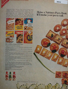 Nabisco Party Boat Ad  1968