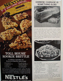 Nestles Toll House Kookie Brittle Ad 1967