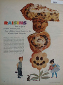 Raisins A Lovely Taste Surprise Ad 1961