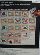 Jell O Bonus Stamps Ad 1965