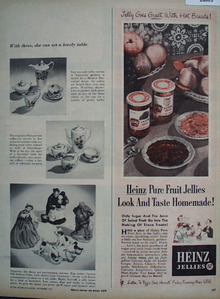 Heinz Jellies Look And Taste Homemade Ad 1951