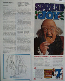 Peter Pan Peanut Butter Christmas Ad 1967