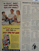 Jolly Time Pop Corn And Bob Hope Ad 1951
