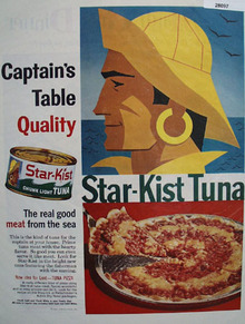 Star Kist Tuna Captains Table Quality Ad 1959