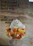 Reddi Wip It Is Good And Easy Ad 1967