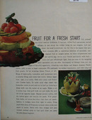 Fruit For Fresh Start Article And Pictures 1964
