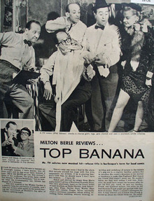 Milton Berle Reviews Top Banana 1951