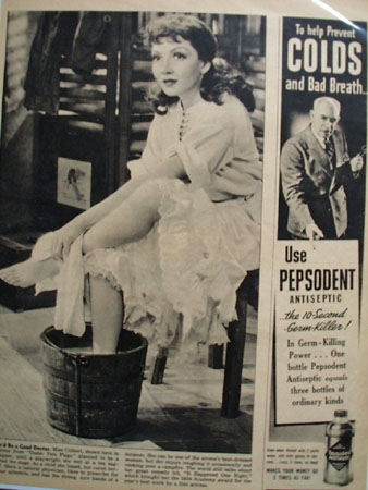 Claudette Colbert Article and Pictures 1938