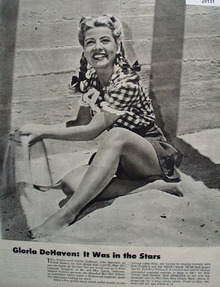 Gloria DeHaven It Was In The Stars Picture 1944