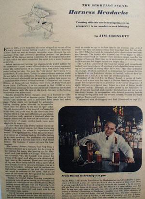 Harness Headache Article 1947
