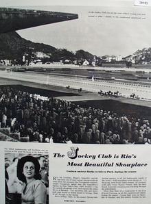 Jockey Club At Rio De Janeiro Picture 1949