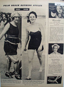 Bathing Styles Mrs Van Vleek And Mrs Robertson Article 1939