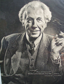 Frank Lloyd Wright picture 1949