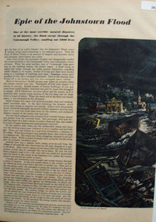 Epic of Johnstown Flood Article and Pictures 1947