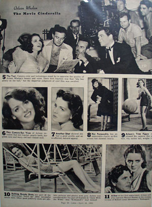 Arleen Whelan Newest Star Article and Picture 1938