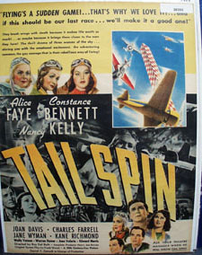 Tall Spin Movie Preview Ad  1939