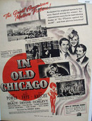 In Old Chicago Movie Preview Ad 1938
