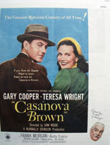 Casanova Brown Movie Preview Ad 1944