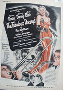 The Fabulous Dorseys Movie Preview Ad 1947