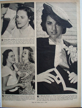 Constance Bennett Proves Point Article Pictures 1938