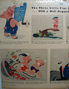 Three Little Pigs Movie Preview Ad 1939