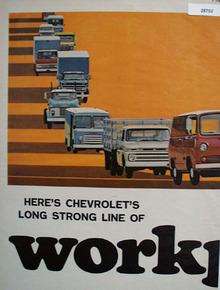 Chevrolet Truck Ad September 18, 1964