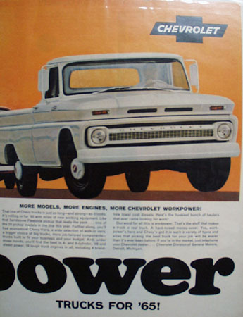 Chevrolet Truck Ad September 18, 1964