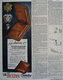 Buxton Ad September 22, 1945