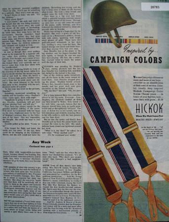 Hickok Ad April 15, 1944