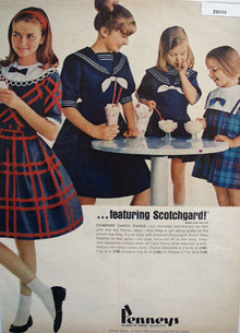 Penneys Ad August, 1965