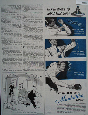 Manhattan Ad September 23, 1944
