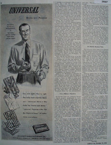 Reliance Mfg Co Ad October 13, 1945