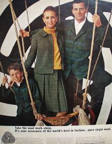 Wool Bureau Ad August, 1965