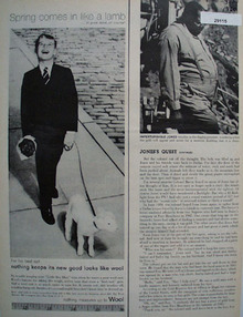 Wool Bureau Ad March 14, 1960