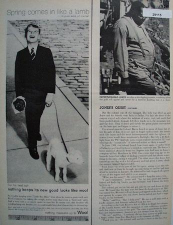 Wool Bureau Ad March 14, 1960