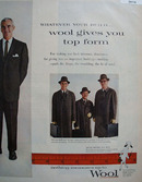 Wool Ad September 29, 1958