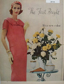 Good Housekeeping Fashions Ad February, 1958