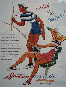 Jantzen Sun Clothes Ad July 7, 1945