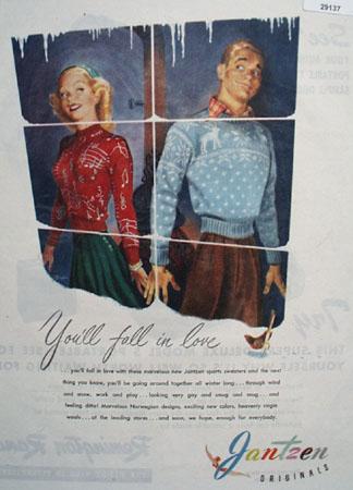 Jantzen Originals Ad December 1, 1945